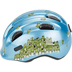 ABUS Smiley 2.0 Cykelhjelm Børn, blue croco